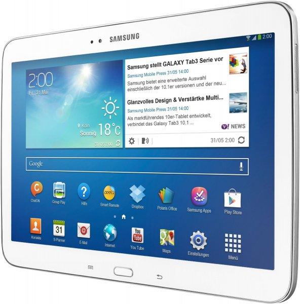 Samsung Galaxy Tab 3 10.1 WiFi für 199€ @ Ebay.de