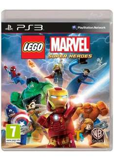 Lego Marvel Super Heroes (PS3) für 23,31€ @Base.com