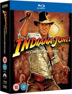 [zavvi.com] Indiana Jones: The Complete Adventures Blu-ray - 5 Disc