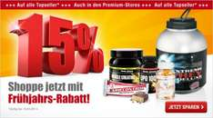 Body Attack 15% auf Top-Produkte