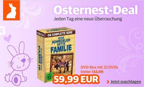Eine schrecklich nette Familie - Die komplette Serie (dvd) für 53€ bei Buch.de