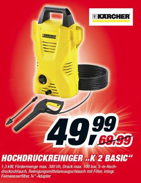 Toom-Baumarkt - Kärcher K2 Basic Hochdruckreiniger