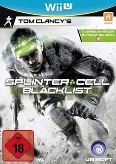 Nintendo Wii U - Tom Clancy's Splinter Cell Blacklist - (@AMAZON.DE)