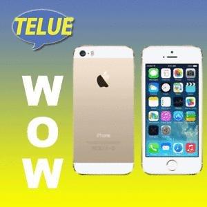 Apple iPhone 5S 16GB - LTE Smartphone - NEUGERÄT DEUTSCHE WARE - Farbe gold und Silber
