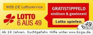 Gratis Lotto Tipp über Web.de & GMX 6aus49 (Partner lotto24.de)