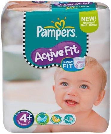 Pampers im Amazon.co.uk Sparabo (z.B. Active Fit Gr. 4+ für 0,22€/ Windel)