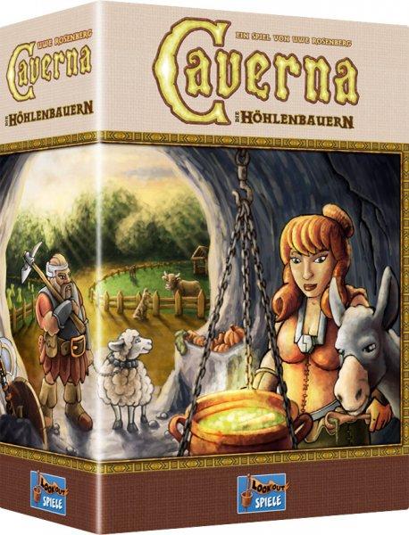 [Brettspiel] Caverna - Komplexes Strategiespiel von Uwe Rosenberg für 53,95 EUR inklusive Versandkosten