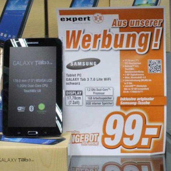 "Samsung Galaxy Tab 3 7,0"" inklusive Original Samsung Tasche. Lokal Hagen!"