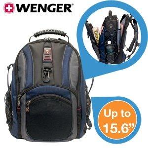 Wenger Hudson 15,4 Zoll Notebook Rucksack für 24,95€ zzgl. 5,95€ Versand @iBOOD