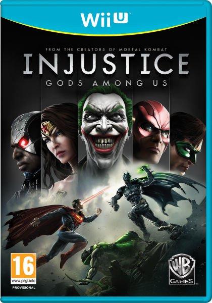 Nintendo Wii U - Injustice: Götter unter uns (Gods Among Us) für €9,66 [@Zavvi.com]