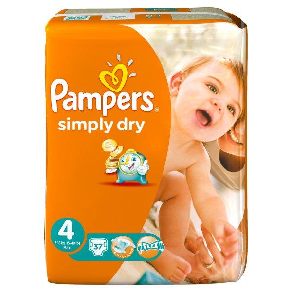 3x Pampers Simply Dry Windeln bei Netto mit P&G Gutschein alle Größen