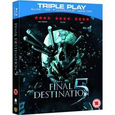 Blu-ray - Final Destination 5 (Triple Play / 2 Discs) für €4,22 [@Wowhd.co.uk]