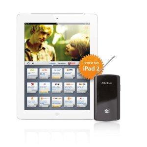 Equinux Tizi Mobile TV DVB-T Tuner für Apple iPad/iPhone/iPod Touch, iMac, MacBook Pro drahtlos für 100€ @Amazon