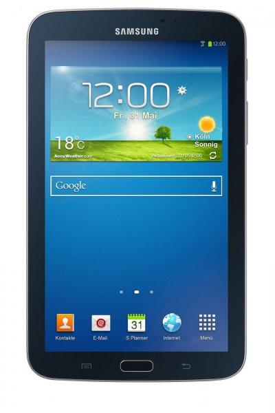 """[ebay.de] Samsung GALAXY Tab 3 17.8cm (7"""") Android Tablet Wi-Fi Bluetooth 8GB schwarz für 94,99 € ohne Vsk"""