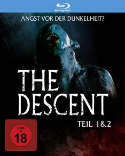 The Descent - Teil 1 & 2 (Blu-ray)  ungeschnittene Fassung