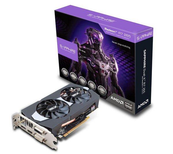SAPPHIRE Radeon R7 265  2GB GDDR5