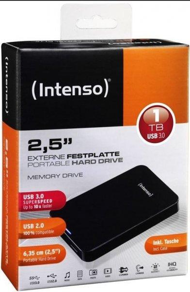 Externe Festplatte: Intenso Memory Drive 1TB / USB 3.0