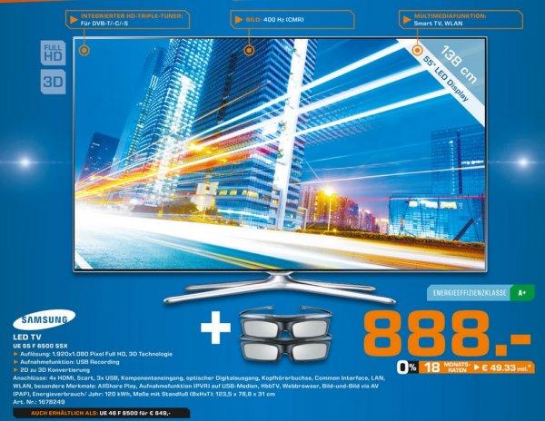 Samsung UE55F6500 für 888€,LG 42LA8609 für 799€ Lokal [Saturn Köln Hansaring]