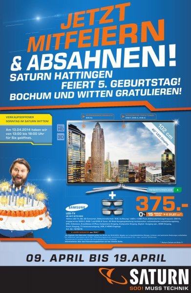 (Lokal) Saturn Bochum Witten Hattingen S3mini 125, S4mini 195 weitere Artikel