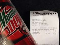 Gelnhausen Lokal? Thomas Philipps Mountain Dew Code Red 0,5l 0,15€ + Pfand