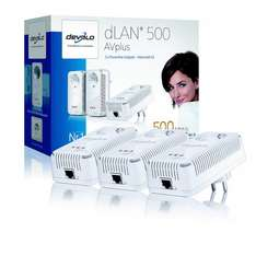 devolo dLAN 500 AVplus Network Kit - 65,50 €