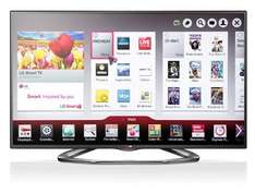 "[Lokal Media-Markt Bochum] LG 55LA6208 55"" 3D-TV mit 4 Brillen, Triple-Tuner, Smart TV"