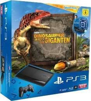 PS3 12GB + Move Wonderbook Starterpack + Dinosaurier im Reich der Giganten - nur 179,-- Euro