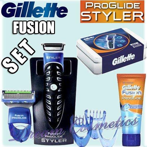 [wieder da] GILLETTE Fusion ProGlide Geschenkset + Gratis Transparentes Rasiergel 175 ml für 12€ @ Saturn.de