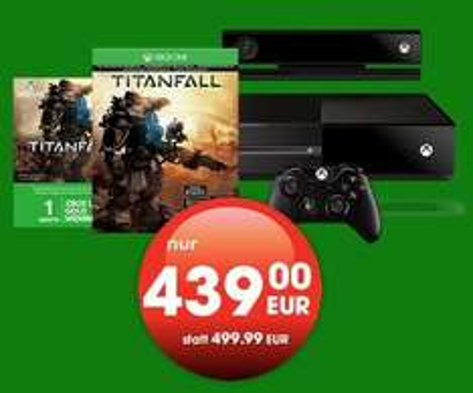 Xbox One Titanfall Premium Bundle für 439.- Euro für Gamestop+ Mitglieder