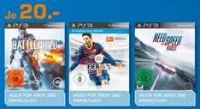 [Lokal Saturn Hamburg] FIFA 2014 für PS3 nur 20€