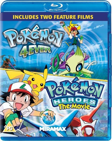 Blu-ray - Pokemon Double Feature (Forever + Heroes) für €7,26 [@Zavvi.com]
