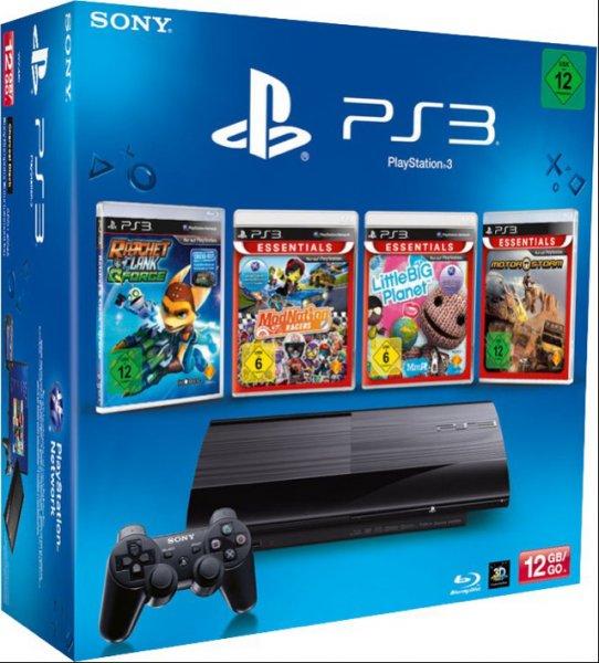 Playstation 3 mit 12Gb + 4 Spiele ab 134€ @ Tchibo am 12.04.