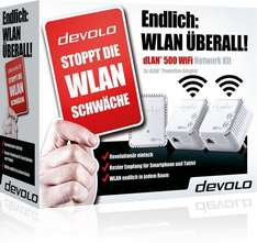 devolo dLAN 500 WiFi Network Kit - 70,50 €