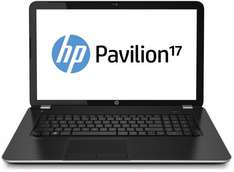 "HP Pavilion 17-e166eg für 449,00 € - 17"" Notebook mit AMD Quad-Core A8-4500M, 8 GB RAM, 750 GB HDD, Windows 8"