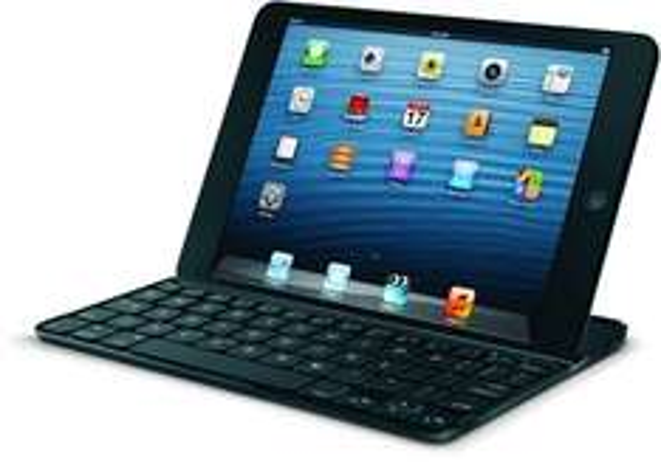 Logitech Ultrathin Keyboard für iPad Mini schwarz für 33,80€ @ebay