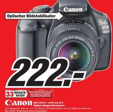 Canon EOS 1100D Kit 18-55 mm  IS  im MediaMarkt Hildesheim
