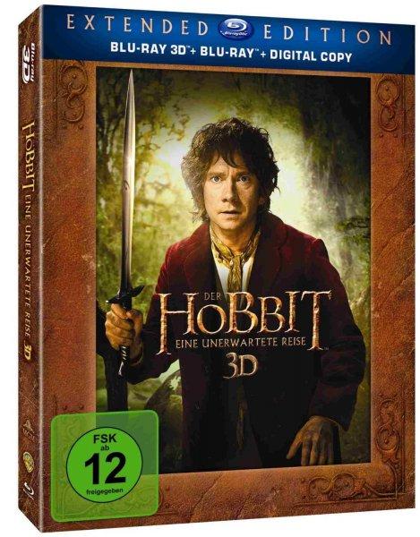 [amazon.de] Der Hobbit: Eine unerwartete Reise - Extended Edition 3D/2D (5 Discs) für 21,97 € ohne Vsk