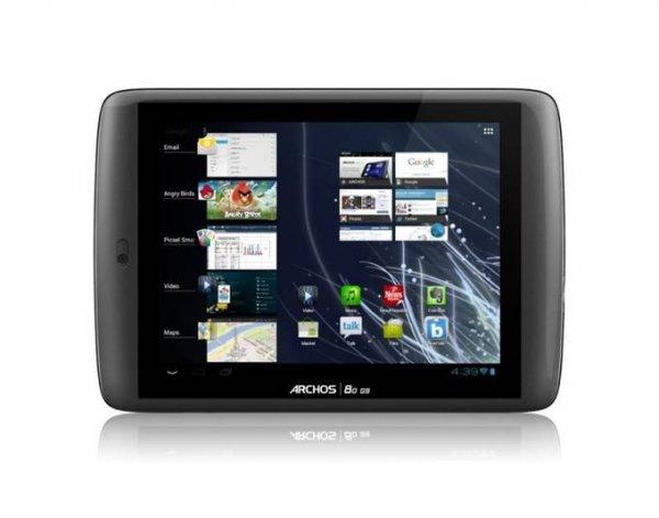"""ARCHOS 80 G9 Tablet 20.3 cm 8"""" Multitouch Display Multicore-CPU 8GB Android 4 GPS refurbished (vom Hersteller Generalüberholt) @meinpaket für 48,99€ inkl. Versand"""
