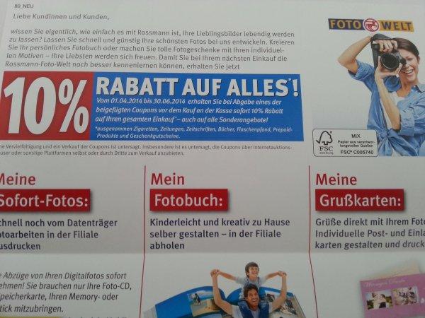[Lokal Neunkirchen] 10% Rabatt auf Alles bei Rossmann
