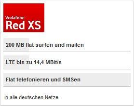 Vodafone Red XS incl. HTC one mini für mtl. 19,99€ im Vodafone Vorteil