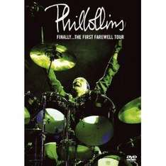 Phil Collins Doppel-DVD Live Finally... The First Farewell Tour 4,99€ @Amazon