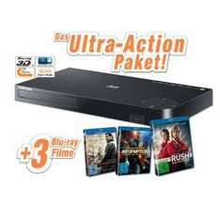 Samsung BD-H5500 3D Blu-ray-Player + 3 Blu-rays für 88€ @Expert
