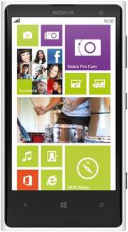 Nokia Lumia 1020 White Vodafone EU 32GB / 41 Megapixel / Snapdragon S4 2x 1,5GHz / 2GB RAM / Windows Phone 8 / für 389,90 EUR #hoh.de