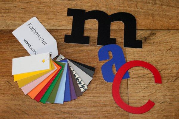 Gratis Muster-Buchstaben anfordern