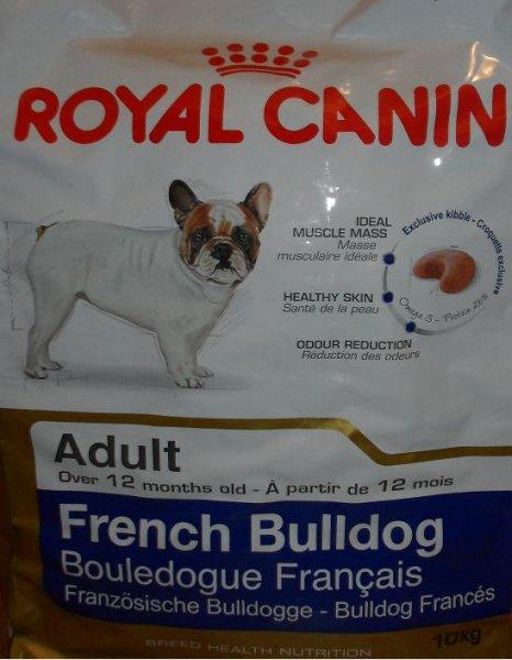 2x 10kg Trockenfutter Royal Canin adult 26 Französische Bulldogge für 120 Euro inkl. Versand bei Ebay