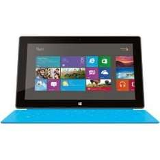 Microsoft Surface (RT) Tablet Wi-Fi 64 GB Windows 8.1 RT mit Touch Cover cyan für  €250,63