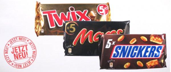 Twix Schokoriegel 5x(2 x 25 g) für nur 0,59 auf mapalu.de