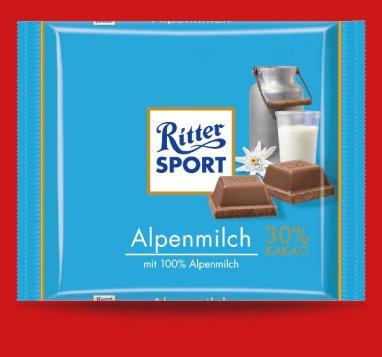 Ritter Sport 100gr bei Penny zu 55ct ab 14.04