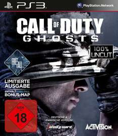 LOKAL: Call of Duty Ghosts Limited Edition incl. Freefall für  PS3 & XBox360 für 19€ bei MediaMarkt Berlin Steglitz