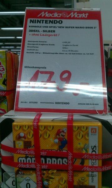 [Lokal Köln Kalk]Nintendo 3DS XL mit Super Mario Bros 2